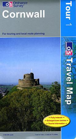 Cornwall Touring Maps.
