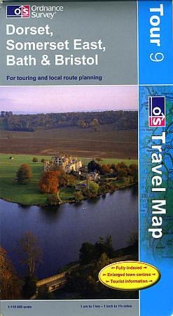Dorset, Somerset East, Bath and Bristol Touring Maps.