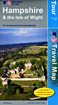 Hampshire and Isle of Wight Touring Maps.