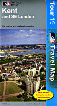 Kent and Southeast London Touring Maps.