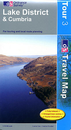 Lake District and Kumbria Touring Maps.