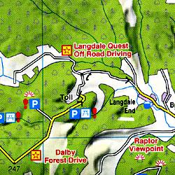North York Moors Touring Maps.