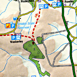Northumberland Touring Maps.