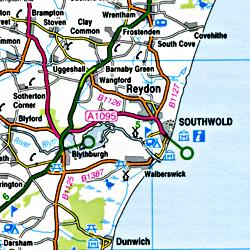 South East England #8 Regional Road Map.
