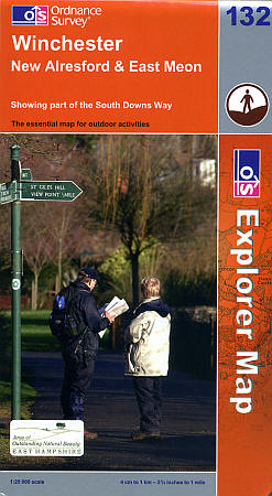 Winchester and New Alresford Road and Topographic Maps.