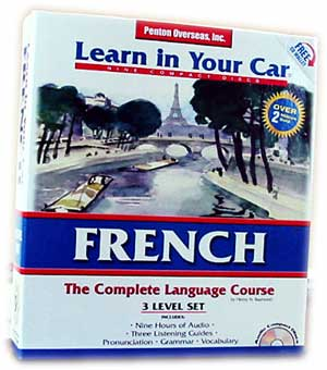Learn French In Your Car! Audio CD Course.
