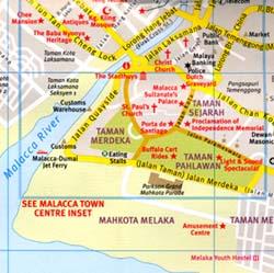 Malacca, Malaysia.