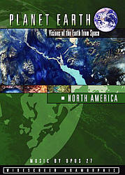 North America Visions of Earth from Space - Travel Video.