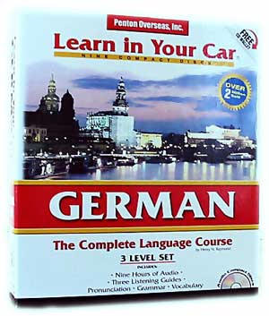 Learn German In Your Car! Audio CD Language Course.
