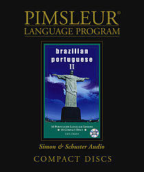 Pimsleur Brazilian Comprehensive Audio CD Language Course, Level 2.
