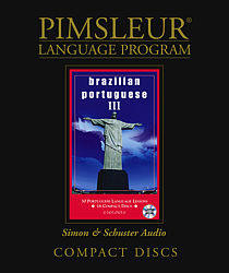Pimsleur Brazilian Portuguese Comprehensive Audio CD Language Course, Level 3.