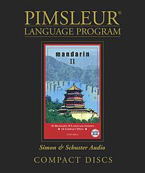 Pimsleur Chinese (Mandarin) Comprehensive Audio CD Language Course, Level 2.