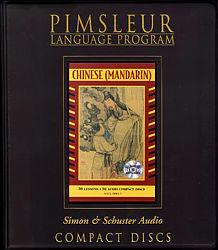 Pimsleur Mandarin Chinese Comprehensive Audio CD Language Course, Level 1.