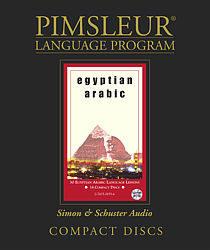 Pimsleur Arabic (Egyptian) Comprehensive Audio CD Language Course.