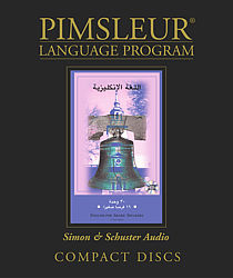 Pimsleur English For Arabic Speakers, Audio CD Language Course.
