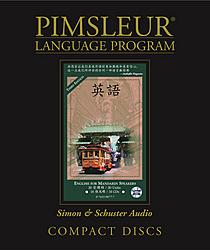 Pimsleur English For Mandarin Chinese Speakers, Audio CD Language Course.
