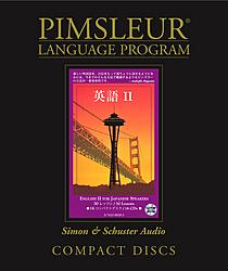 Pimsleur English For Japanese, Level 2 Speakers, Audio CD Language Course.