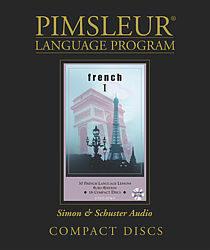 Pimsleur French Language Comprehensive Audio CD Language Course, Level 1.