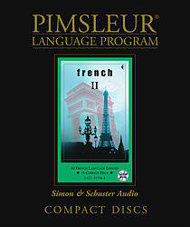 Pimsleur French Comprehensive Audio CD Language Course, Level 2.