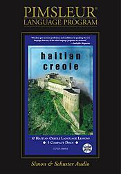 Pimsleur Creole Audio CD Language Course.