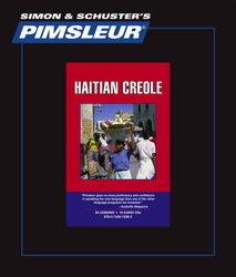 Pimsleur Haitian Creole Comprehensive Audio CD Language Course, Volume 1.
