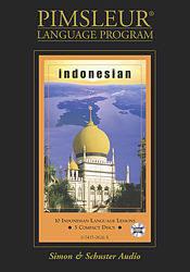 Pimsleur Indonesian Basic Audio CD Language Course.
