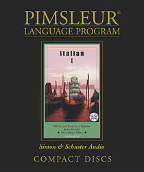 Pimsleur Italian Comprehensive Audio CD Language Course, Level 1.