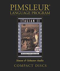 Pimsleur Italian Comprehensive Audio CD Language Course, Level 2.