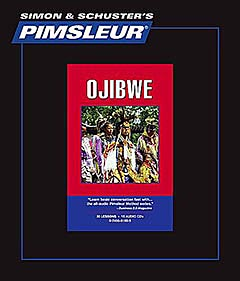 Pimsleur Ojibwe Comprehensive Audio CD Language Course.