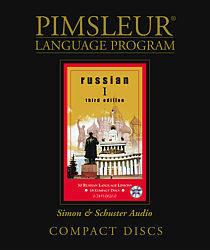 Pimsleur Russian Comprehensive Audio CD Language Course, Level 1.