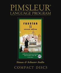 Pimsleur Russian Comprehensive Audio CD Language Course, Level 2.