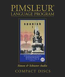 Pimsleur Spanish Comprehensive Audio CD Language Course, Level 1.
