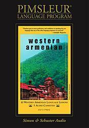 Pimsleur Western Armenian Basic Audio CD Language Course.