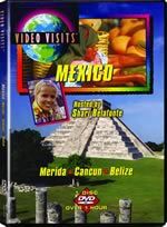 Travels in Mexico and the Caribbean: Merida, Cancun, Belize - Travel Video.
