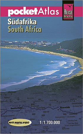 South Africa Road and Topographic Tourist Road ATLAS.