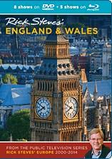 Rick Steves' England & Wales Blu-ray + DVD - Travel Video.