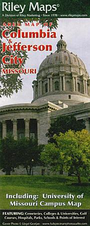 Columbia and Jefferson City, Missouri, America.