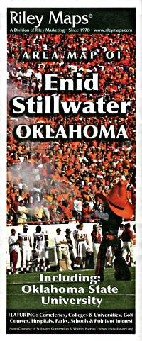 Enid and Stillwater, Oklahoma, America.