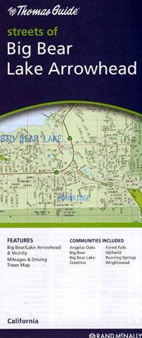 Big Bear and Lake Arrowhead, California, America.