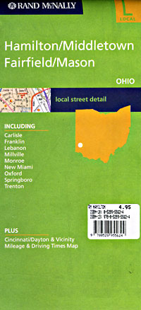 Hamilton, Middletown, Fairfield and Mason, Ohio, America.