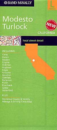 Modesto and Turlock, California, America.