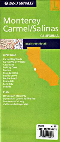Monterey, Carmel, and Salinas, California, America.