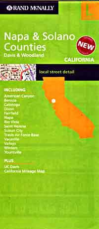 Napa and Solana Counties, California, America.
