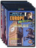 Rick Steves' Best of Travels In Europe - TV Shows on VHS! 1991-1998.