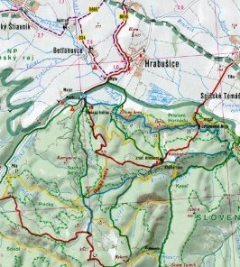 Slovakia Tourist Road Atlas.