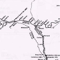New Mexico and Arizona Railroad Atlas, America.