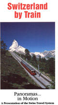 Switzerland By Train - Train Video.