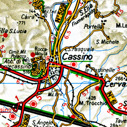 Campania-Basilica Region (Naples-Potenza-Bari).
