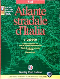 Southern Italy, Tourist Road Atlas.