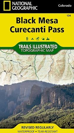 Black Mesa and Curecanti Pass Area.